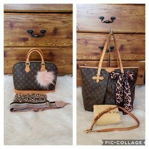 💥🌺BUNDLE DEAL🌺💥 TWO AUTH LVS BAGS